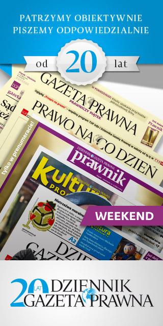 20 lat Dziennika Gazety Prawnej