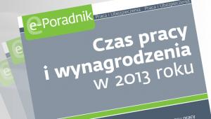 Czas pracy i wynagrodzenia w 2013 roku