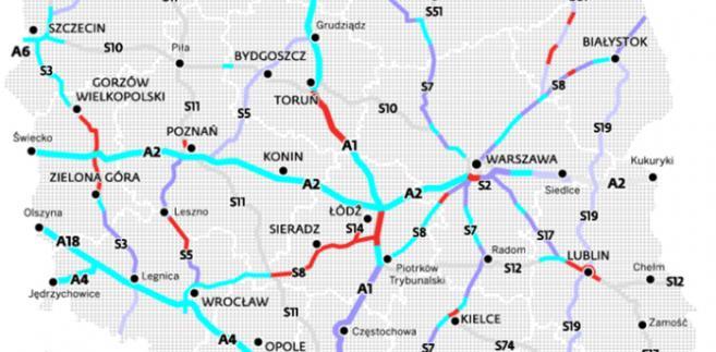 Plan budowy autostrad i dróg ekspresowych
