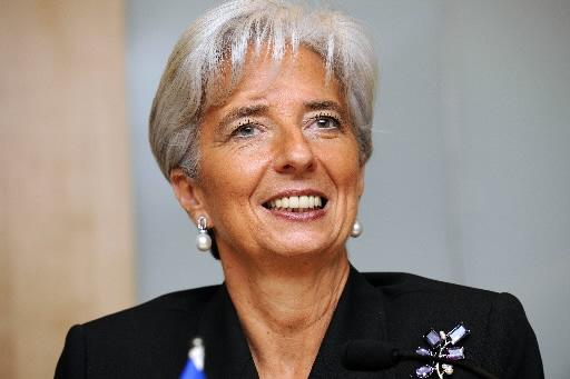 Christine Lagarde, minister finansów Francji zapowiedziała szybszą redukcję deficytu budżetowego. Fot. Bloomberg