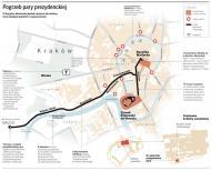Pożegnanie pary prezydenckiej: jak dojechać i poruszać się w Krakowie