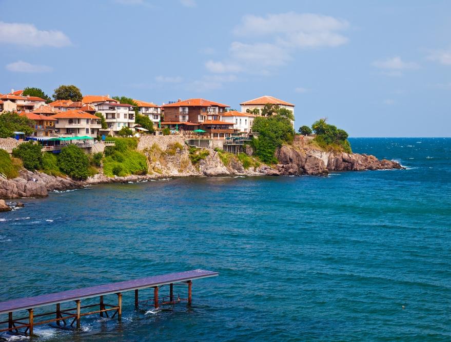 Miejscowość wypoczynkowa w Bułgarii, Morze Czarne Fot. Shutterstock