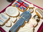 Ciasteczka z księciem Williamem i Kate Middleton