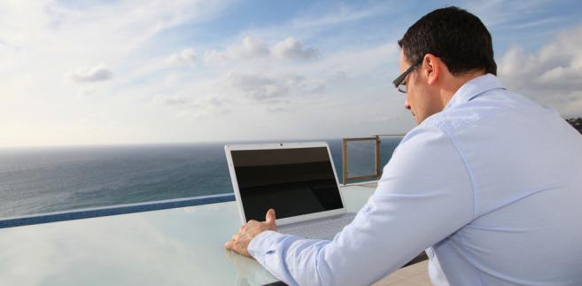 wakacje, komputer