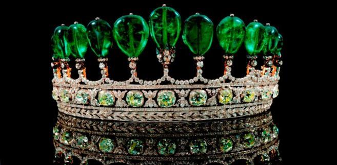 Korona Księżnej Katharin Henckel Von Donnersmark fot. bloomberg