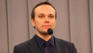 Rzecznik SLD Tomasz Kalita ma pierwsze miejsce na liście w Krakowie.