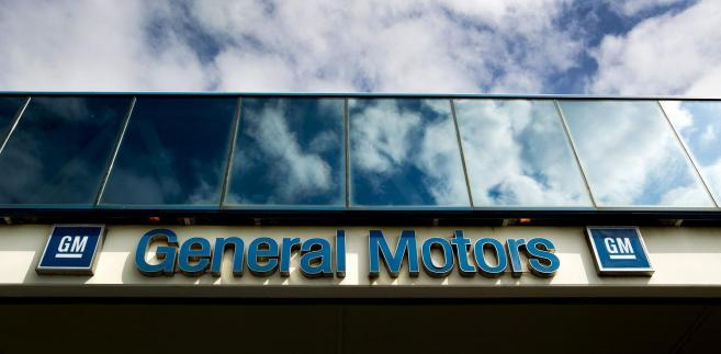 Logo General Motors.