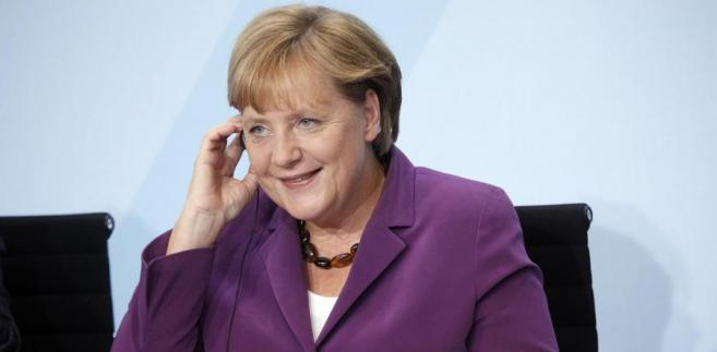 Niemiecka kanclerz Angela Merke