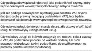 Podatnicy VAT UE