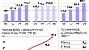 Polacy coraz chętniej kupują w internecie