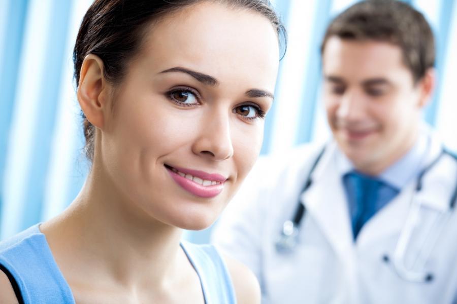 пациентка гинеколога