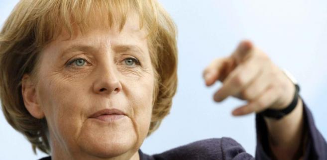Konclerz Niemiec Angela Merkel