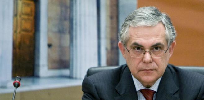 Premier Grecji Lukas Papademos