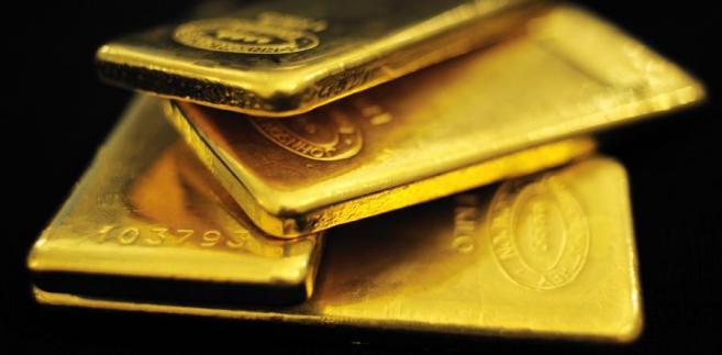 Złoto. Fot. Bloomberg
