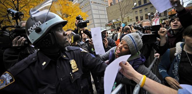 Protesty na Wall Street 15 listopada 2011 r.