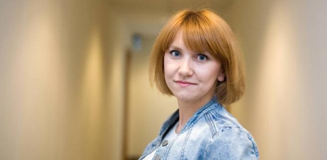 Sylwia Czubkowska dziennikarka działu kraj