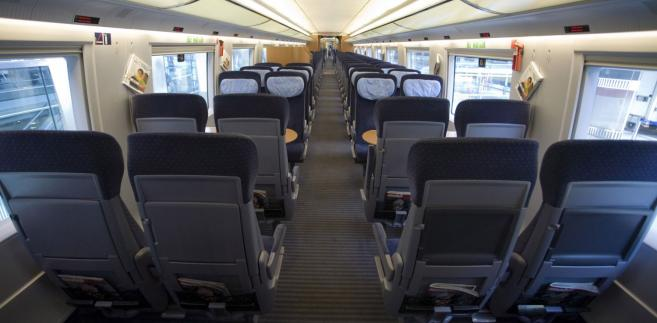 Deutsche Bahn AG Intercity Express. Klasa ekonomiczna