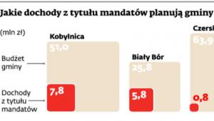 Jakie dochody z tytułu mandatów planują gminy w 2012 roku