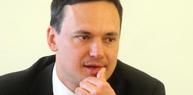 Jacek Cichocki, minister spraw wewnętrznych