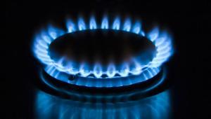Gaz ziemny, palnik, ogień. Fot. Shutterstock