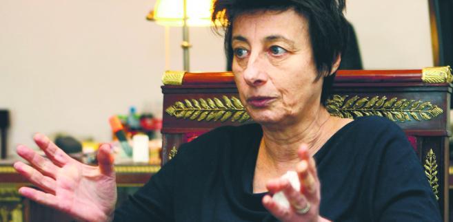 Irena Wóycicka, minister ds. społecznych w Kancelarii Prezydenta.