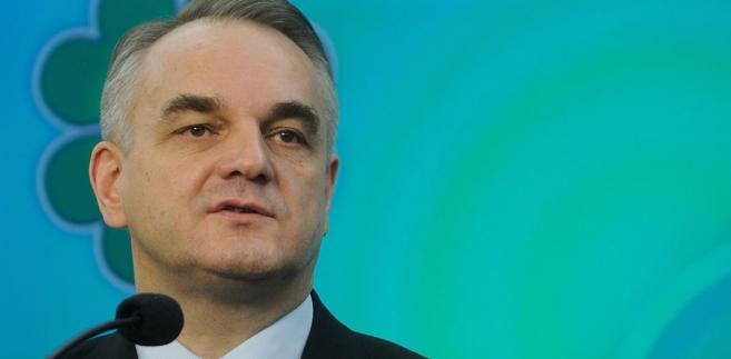 Wicepremier, minister gospodarki Waldemar Pawlak