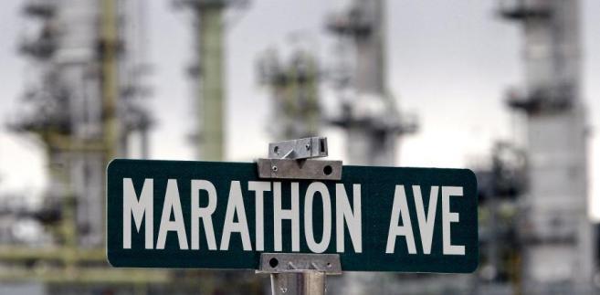Zakłady Marathon Oil Corp w Garyville w Louizjanie w USA