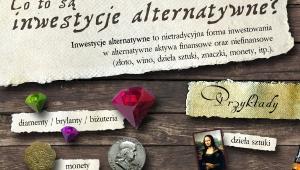 Inwestycje alternatywne Fot.Centrum Finansowe www.Tanie-Kredyty.com.pl