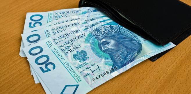 Portfel, pieniądze, fot. RoyStudio