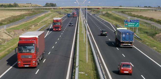 Przejazd autostradą