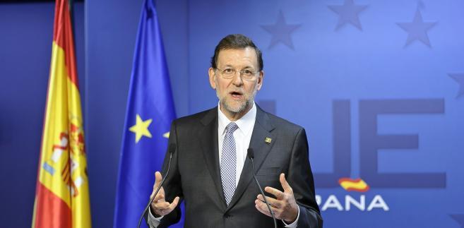 Premier Hiszpanii Mariano Rajoy.