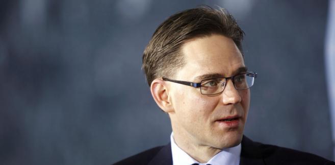 Premier Finlnadii Jyrki Katainen, kandydat na szefa eurogrupy.