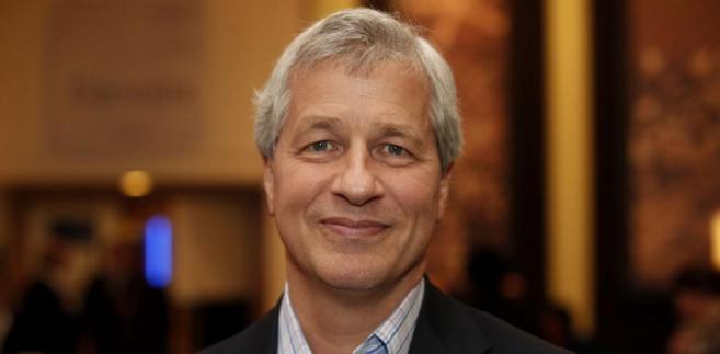 Jamie Dimon, dyrektor zarządzający największego w USA banku JPMorgan Chase & Co.