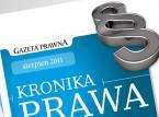 Kronika Prawa sierpień 2011