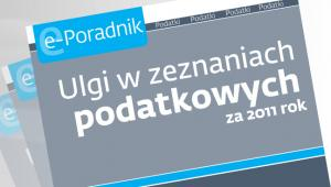 Ulgi w zeznaniach podatkowych za 2011 rok
