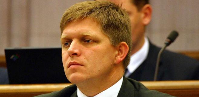 Przyszły premier Słowacji Robert Fico.