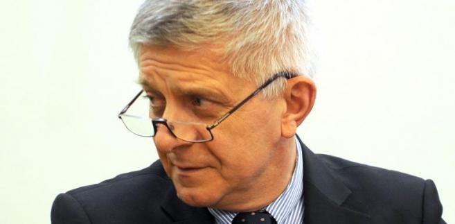 Szef NBP Marek Belka twierdzi, że prawdopodobieństwo podwyżki stóp procentowych jest nadal wyższe niż ich obniżki.