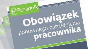 Obowizek ponownego zatrudnienia pracownika