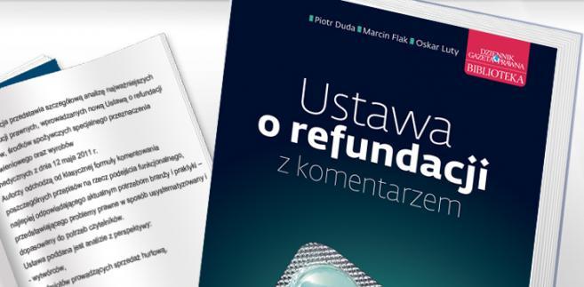 e-book: Ustawa o refundacji z komentarzem