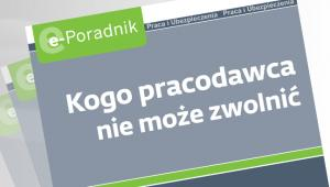 Kogo pracodawca nie moe zwolni