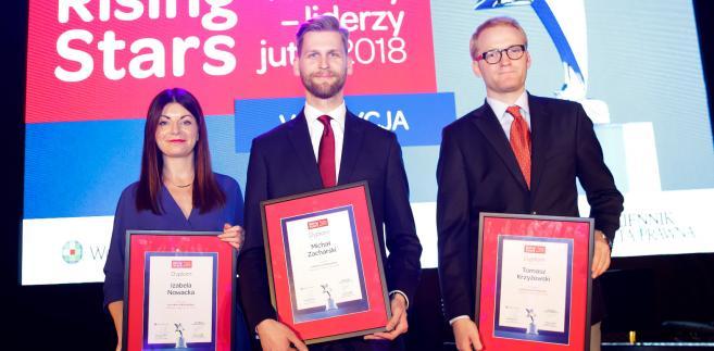 """Znamy laureatów konkursu """"Rising Stars Prawnicy - liderzy jutra 2018"""""""