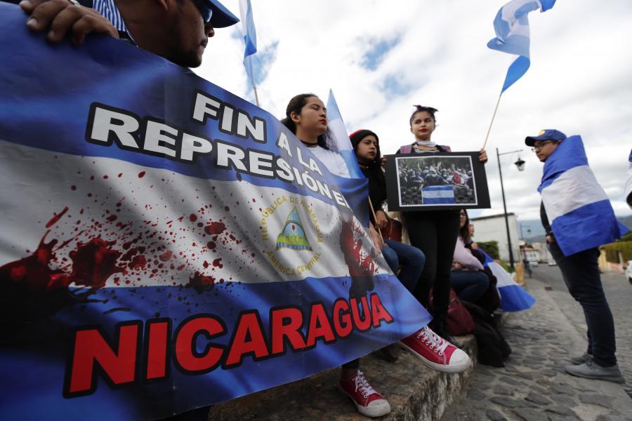Protesty przeciwko rządom Daniela Ortegi