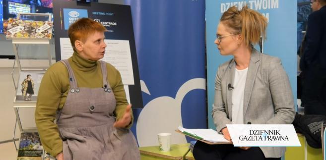 Janina Ochojska, prezes Polskiej Akcji Humanitarnej