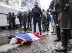 """Ambasada Polski w Paryżu ostrzega: W sobotę manifestacje """"żółtych kamizelek"""""""