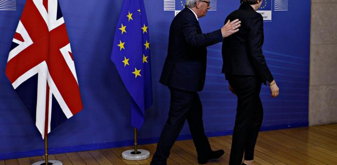 Jean-Claude Juncker i Theresa May