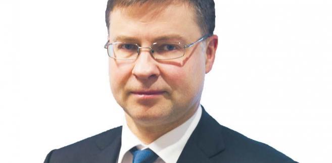 Valdis Dombrovskis, wiceprzewodniczący Komisji Europejskiej. Jest politykiem, ekonomistą i fizykiem. W przeszłości był m.in. ministrem finansów oraz premierem Łotwy. W 2014 r. został posłem do Parlamentu Europejskiego. W tym samym roku objął stanowisko wiceprzewodniczącego Komisji Europejskiej. Obecnie odpowiada w Komisji za sprawy euro, stabilności finansowej i dialogu społecznego. W 2011 r. został uhonorowany nagrodą im. Friedricha von Hayeka za wyprowadzenie Łotwy z kryzysu gospodarczego fot. Wojtek Górski