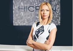 Katarzyna Sokalska pełni funkcję szefowej działu finansowego w firmie Hicron sp. z o.o.