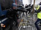 """Francja: Starcia z policją w czasie manifestacji """"żółtych kamizelek"""""""