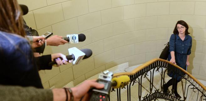 Posłanka podkreśliła, że są posłowie Nowoczesnej, którzy stoją na stanowisku, że KO należy wzmacniać, także poprzez tworzenie wspólnego klubu.