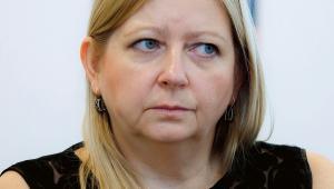 Agnieszka Jagiełło-Gruszfeld, lekarz onkolog z Kliniki Nowotworów Piersi i Chirurgii Rekonstrukcyjnej w Centrum Onkologii w Warszawie fot. Wojtek Górski